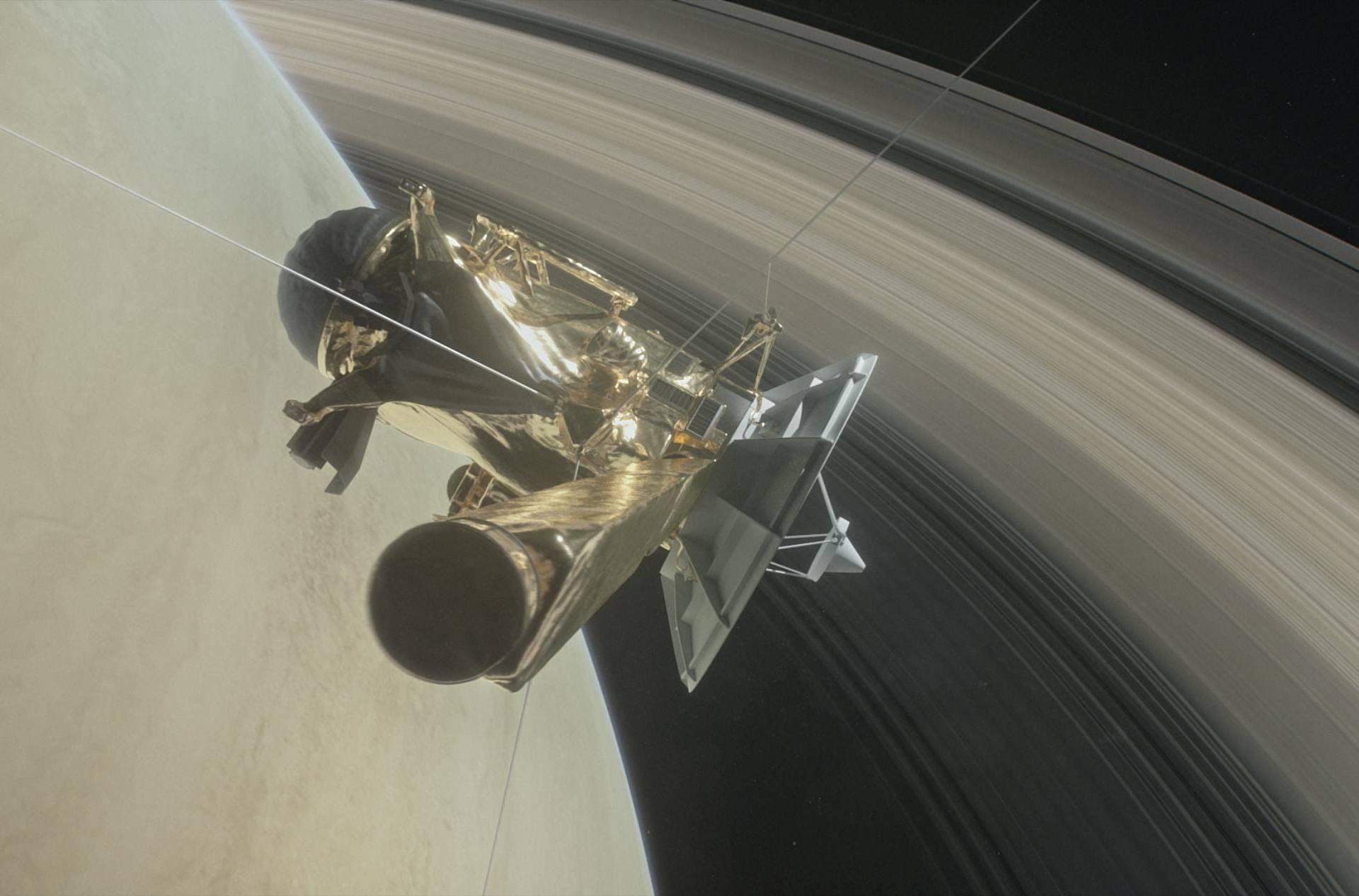 Uživo ćemo gledati vatreni kraj letjelice Cassini na Saturnu
