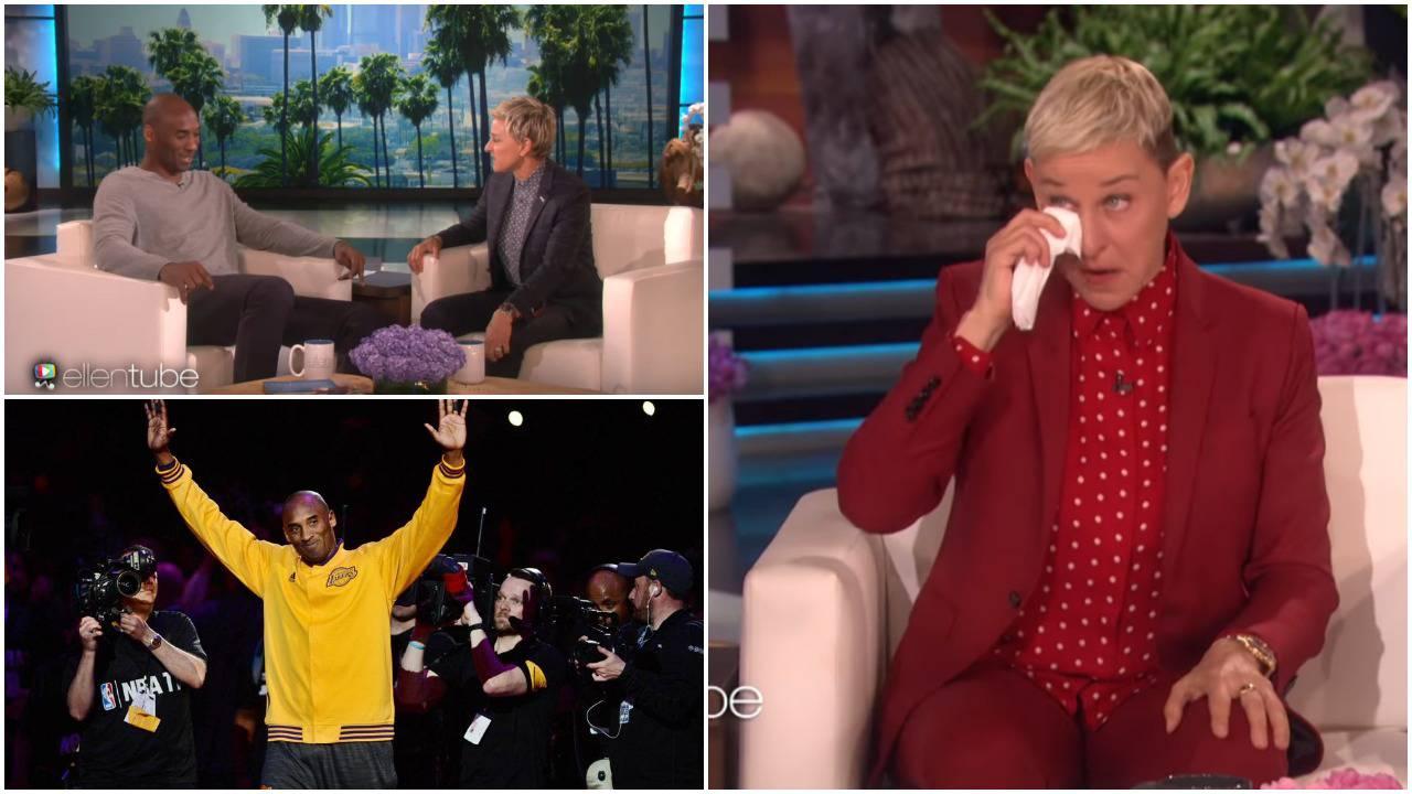Suze voditeljice: Ellen se u talk showu 'slomila' zbog Bryanta