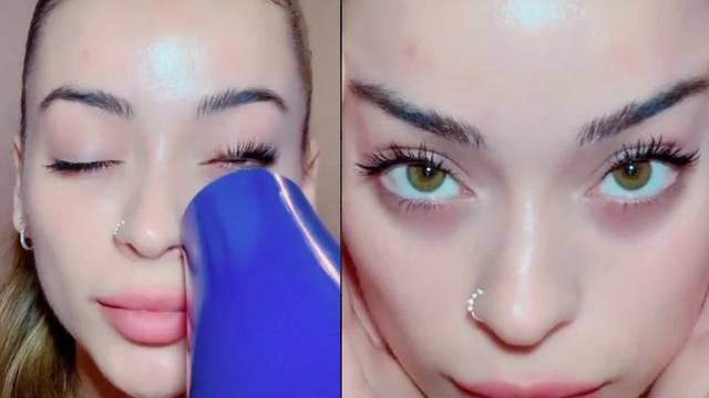 Beauty trik s TikToka: Super trepavice dobila je pomoću fena