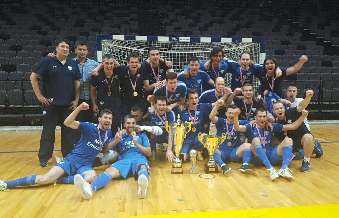 Nacional srušio Split Tommy i obranio titulu prvaka Hrvatske