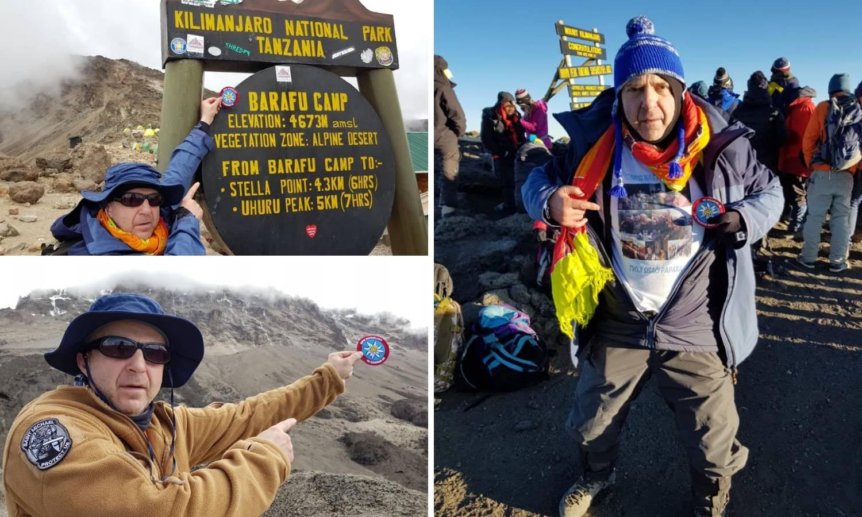 Zagrebački policajac osvojio Kilimanđaro, najviši vrh Afrike