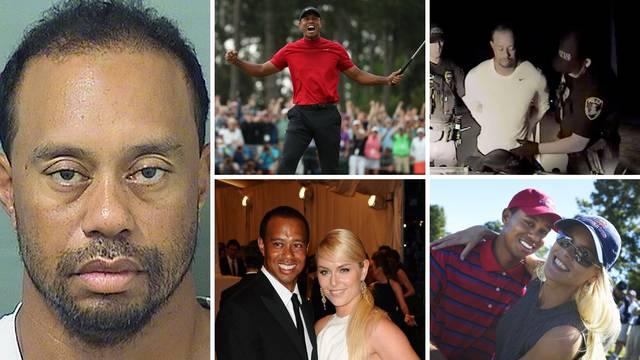 Umjetnik s palicom, ali užasan za volanom: Woods je već imao nesreću, vozio pijan, varao ženu