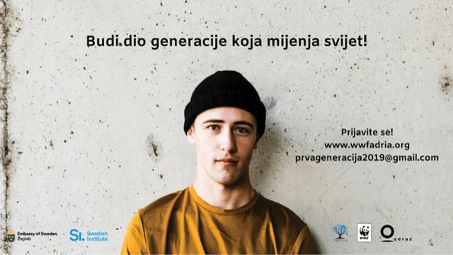 Švedska vlada poziva  tebe: Budi i ti  dio #PrveGeneracije!