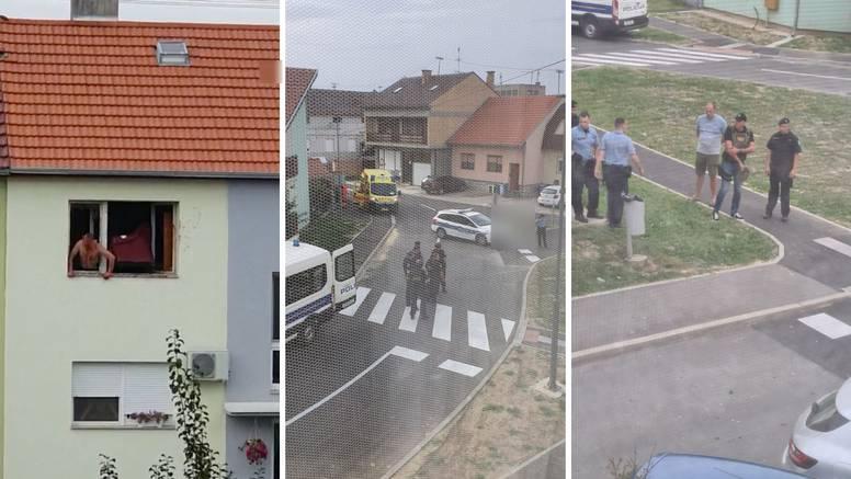 Specijalci upali u stan i svladali muškarca: Oštetio auto, bacao namještaj  i urlao s prozora