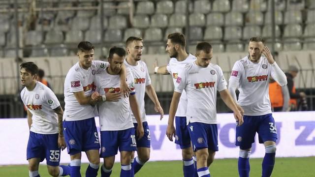 Split: Utakmica 19. kola HNL-a između HNK Hajduk i NK Istra 1961