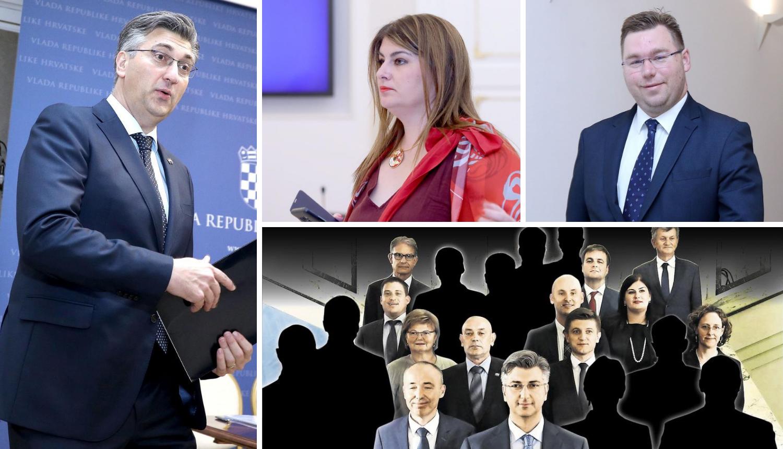 Tolušić i Kujundžić ostat će u Vladi, a Žalac i Pavić odlaze?