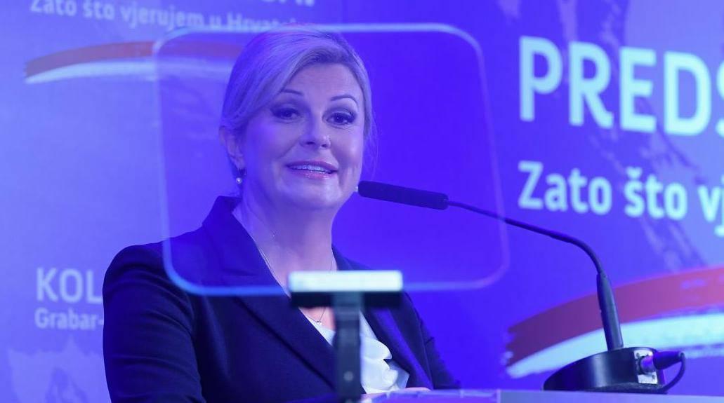 Predsjednica Grabar Kitarović objavila je kandidaturu za još jedan predsjednički mandat