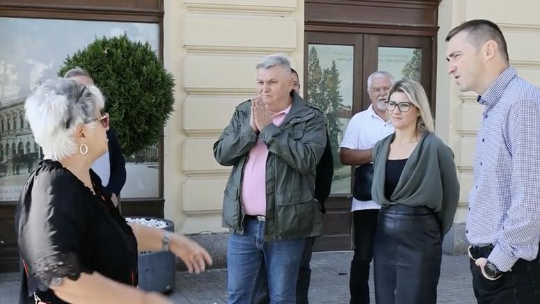 Pogledajte snimku: Vukovarka napala Penavu nakon presice