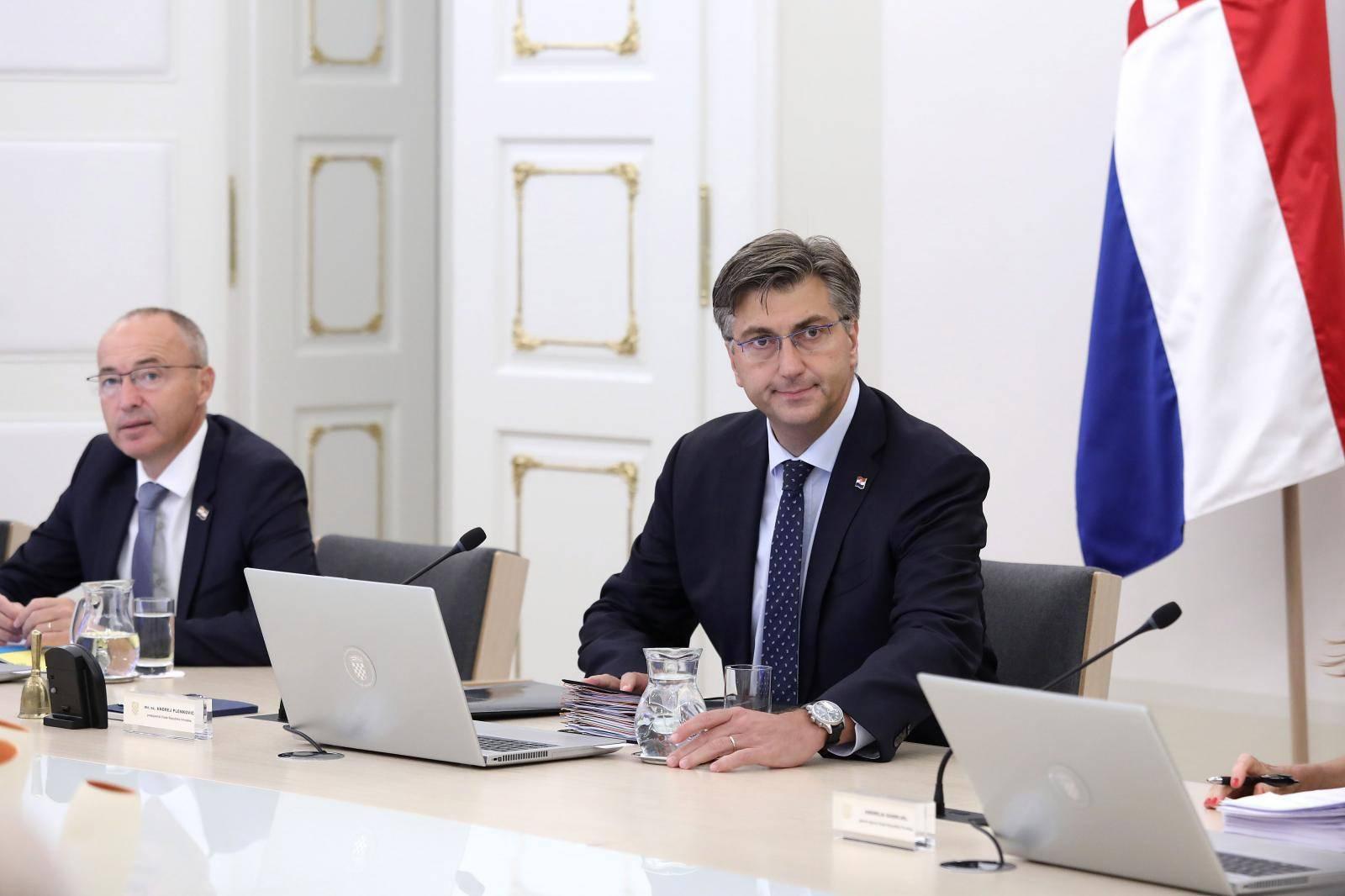 Zagreb: Rasprava Vlade o prijedlogu kandidata RH za člana Europske komisije