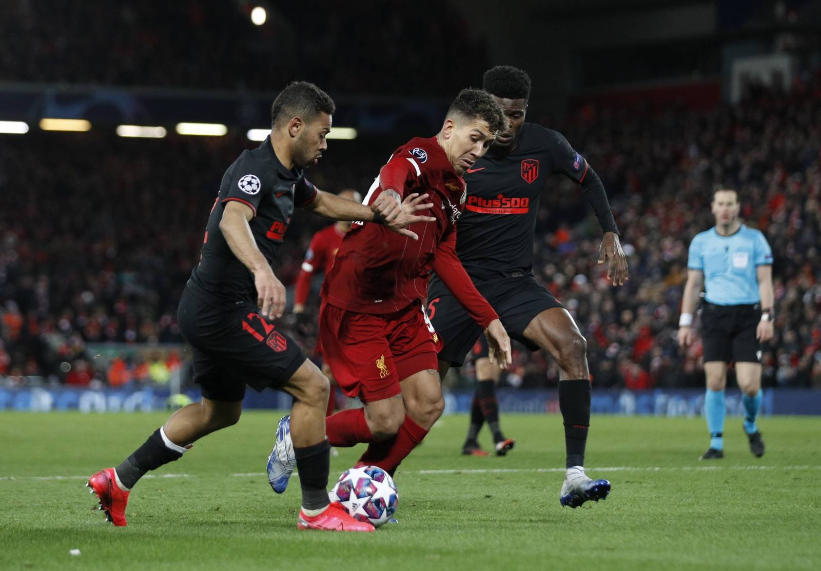 Liverpool v Atletico Madrid - UEFA Champions League - Round of 16 - Second Leg - Anfield