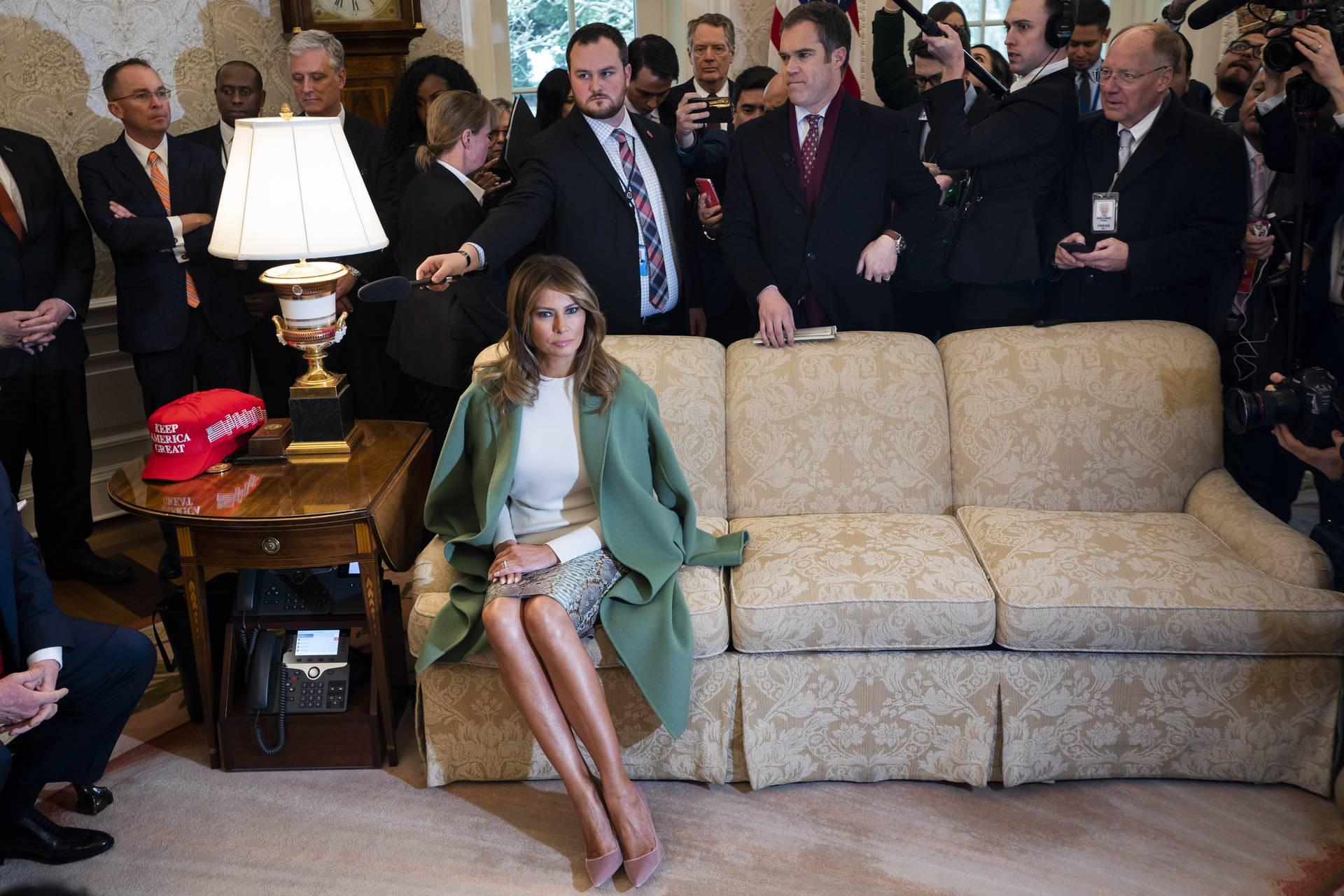 Lenin Moreno visits President Trump at White House