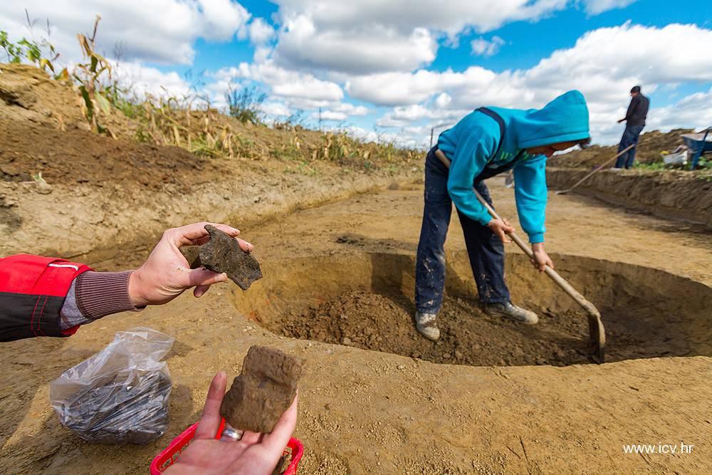 Staro 2200 godina: U Virovitici slučajno pronašli  naselje Kelta