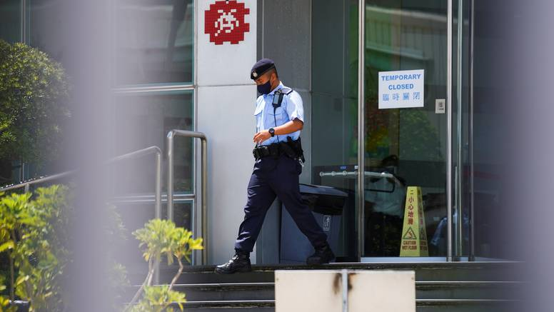 Preko 500 policajaca upalo u urede prodemokratskog medija Apple Dailyja u Hong Kongu