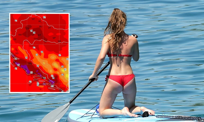 U Splitu je u 7 sati bilo 28°C: Toplinski val došao u  Hrvatsku