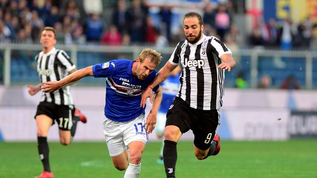 Serie A - Sampdoria vs Juventus
