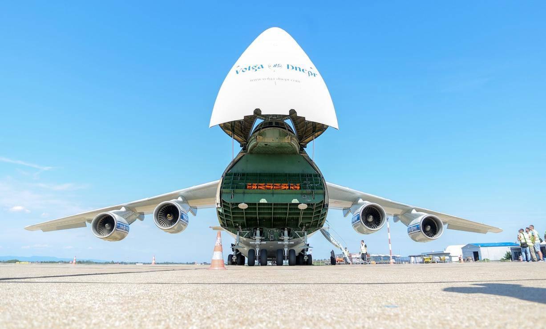 U Zagreb sletio jedan od najvećih aviona na svijetu Antonov