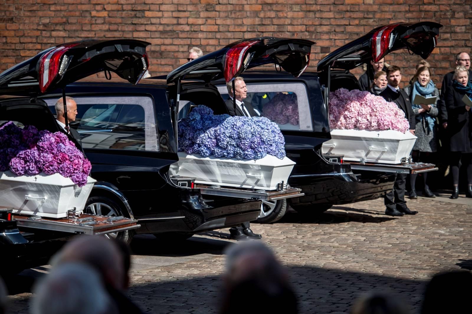 Denmark. Funeral service for victims of Sri Lanka terror attack
