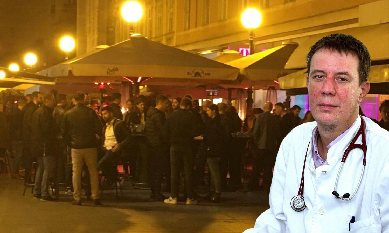 Pulmolog zgrožen: Šetao sam Zagrebom, svi su natiskani! Krajnja mjera je policijski sat