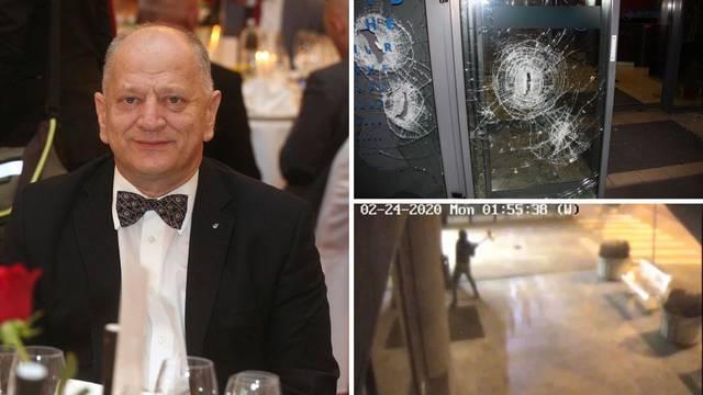 Razbijao ulaz Gabrićeve klinike pepeljarom: Policija ga uhitila