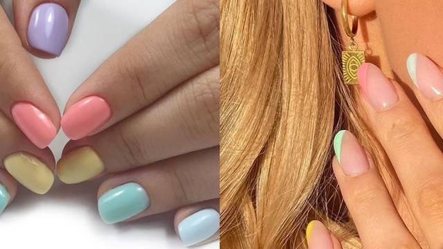 Pastelni nokti romantičnih boja najavljuju lijepe, proljetne dane