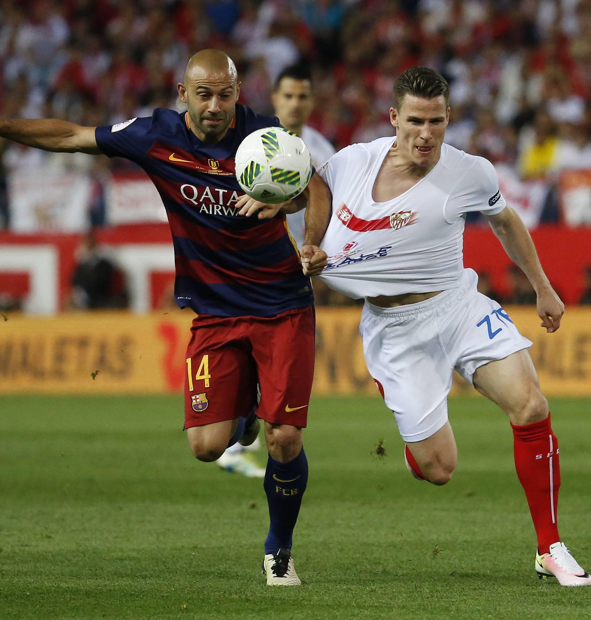 FC Barcelona vs Sevilla - Copa del Rey Final