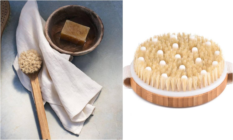 Prirodna suha četka: Koristi li u rješavanju kože s celulitom?