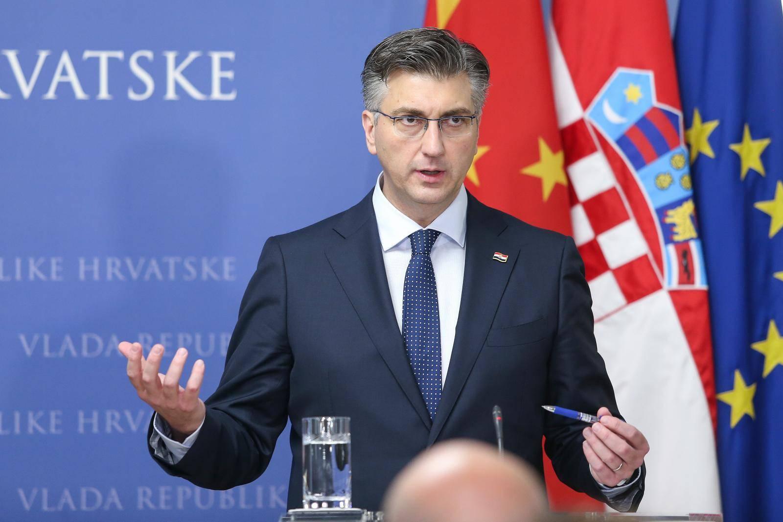 Zagreb: Izjave nakon sastanka Andreja Plenkovića i kineskog premijera Li Keqianga