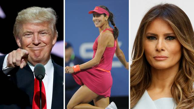 """Što će reći Melania? Trump je """"zaljubljen"""" u ovu tenisačicu"""