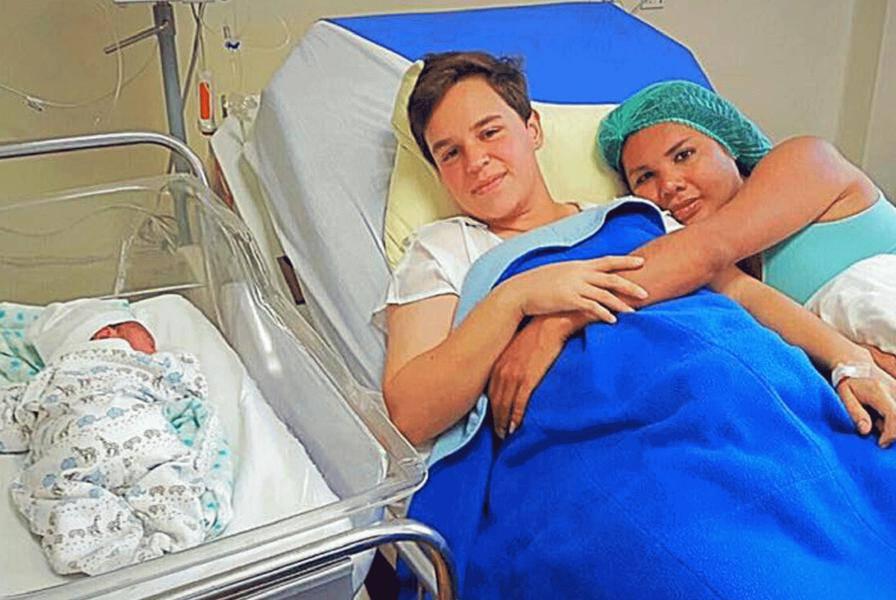 Transrodni muškarac rodio je dijete svojoj transrodnoj ženi
