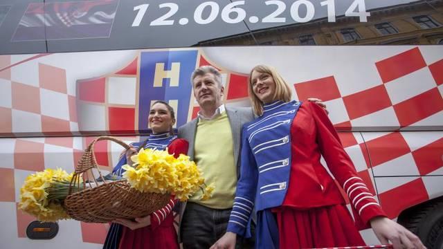 HNS objavio slogan koji će biti na busu reprezentacije na Euru