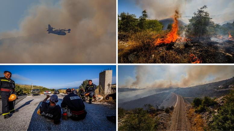'Bilo je teško, ali oštećenih kuća nema. Pored svake će cijelu noć dežurati vatrogasno vozilo'