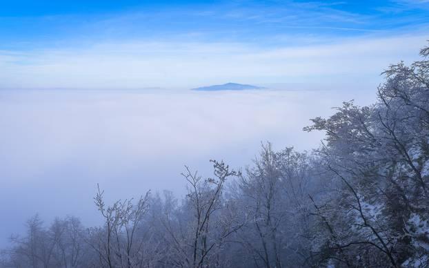 Zimska idila na Žumberku