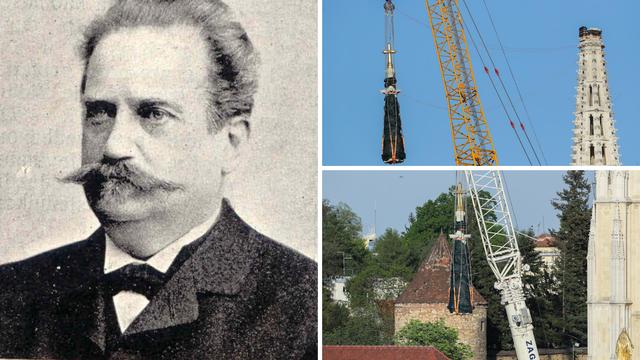 Rušili toranj na isti dan kad je umro Bollé, arhitekt katedrale