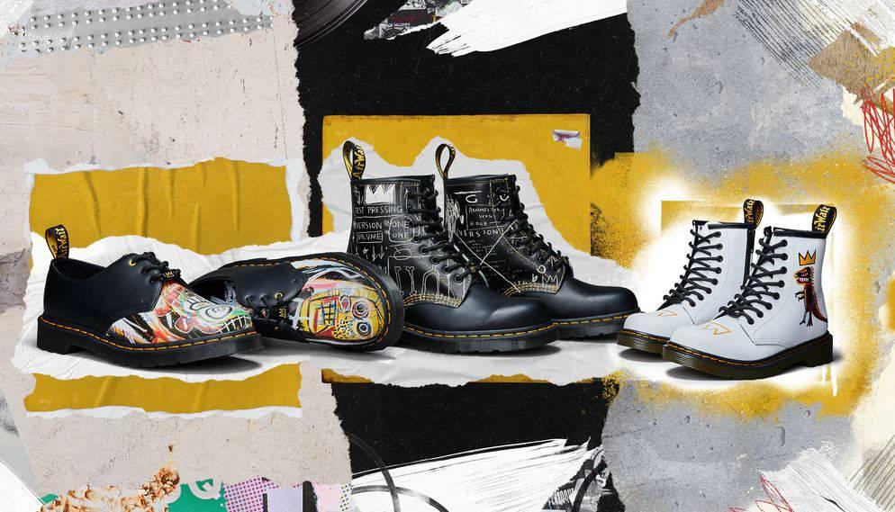 Dr. Martens x Jean-Michel Basquiat nova mini kolekcija posveta je uličnoj umjetnosti