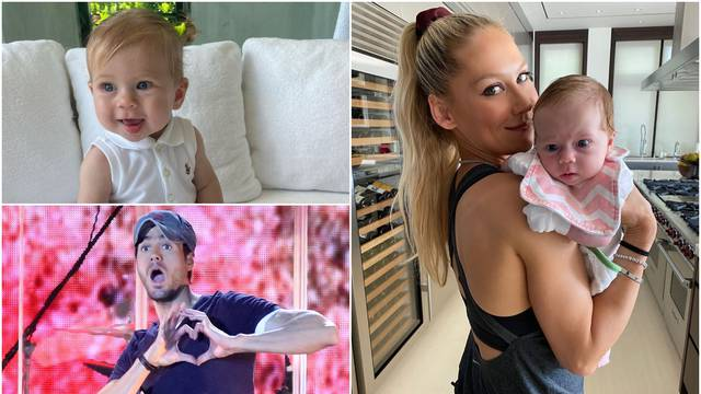 Enrique i Anna pokazali bebu: 'Wimbledone, stiže ti tenisačica'