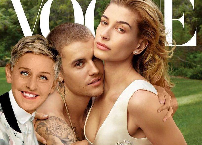 Prava je zafrkantica! Ellen se ugurala u klinč Justina i Hailey