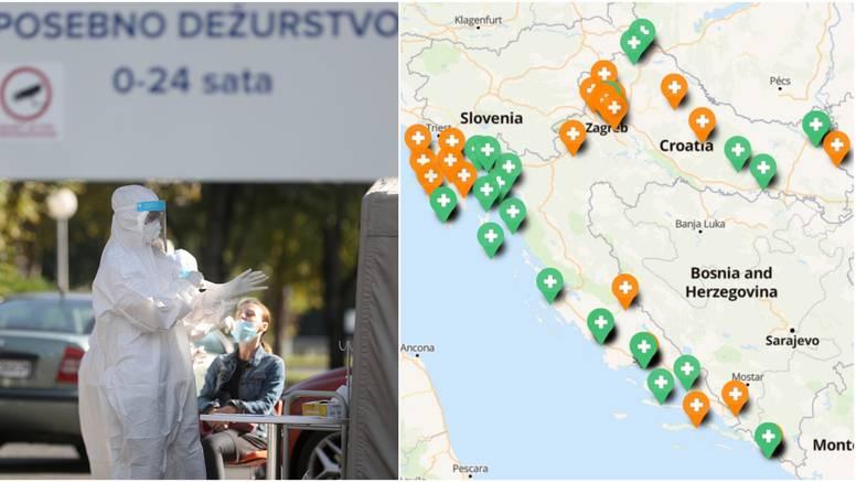 Testni centri u Hrvatskoj: Gdje se sve može testirati na Covid?
