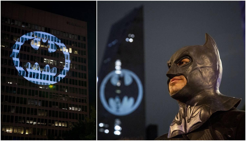 Batman slavi 80. godišnjicu: Zgrade su ukrasili simbolom...