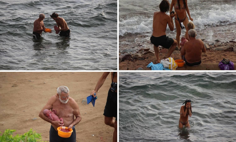 Porodila se u moru i izašla van kao da se ništa nije dogodilo...