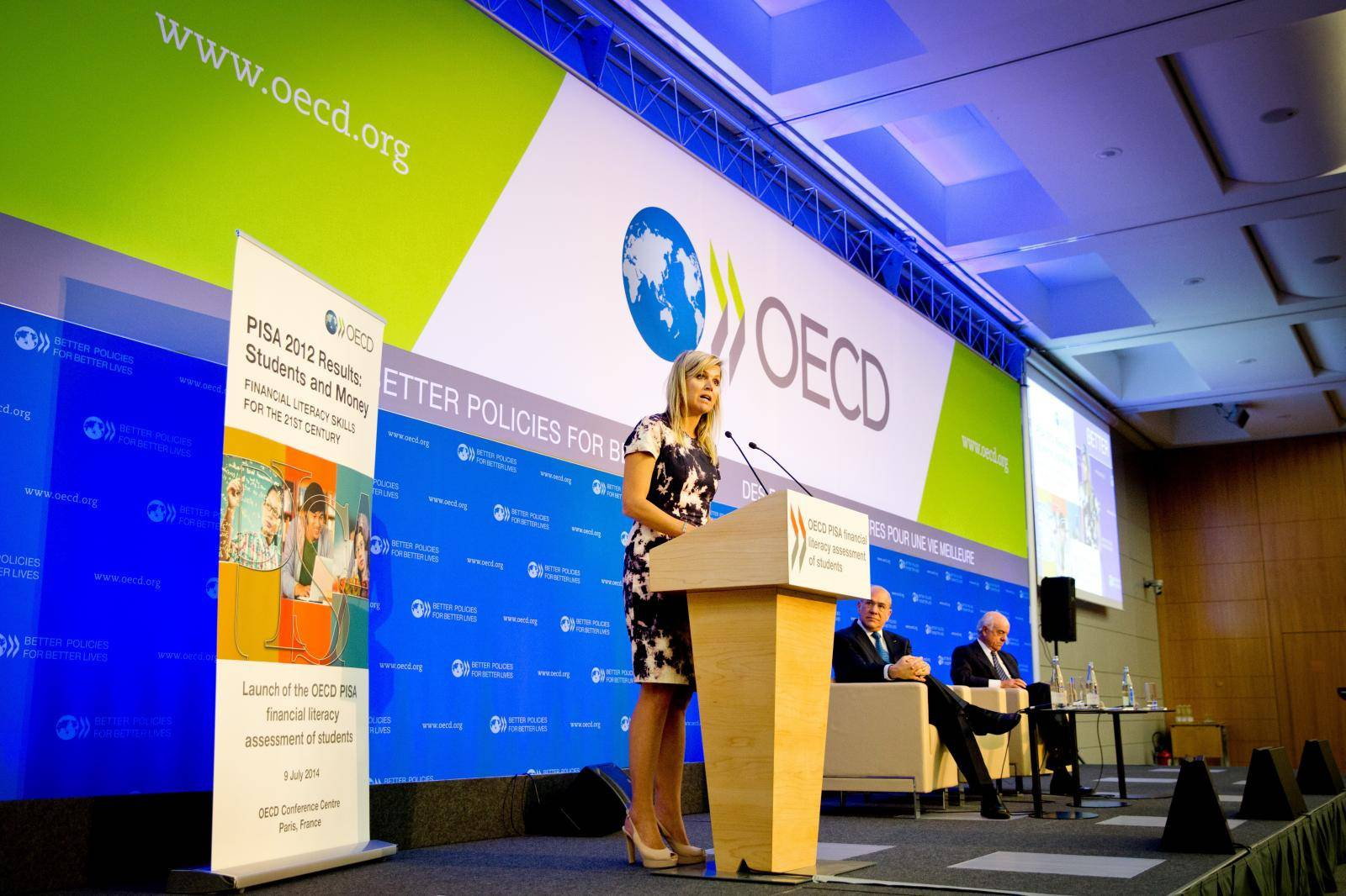 Queen Maxima launches OECD PISA report