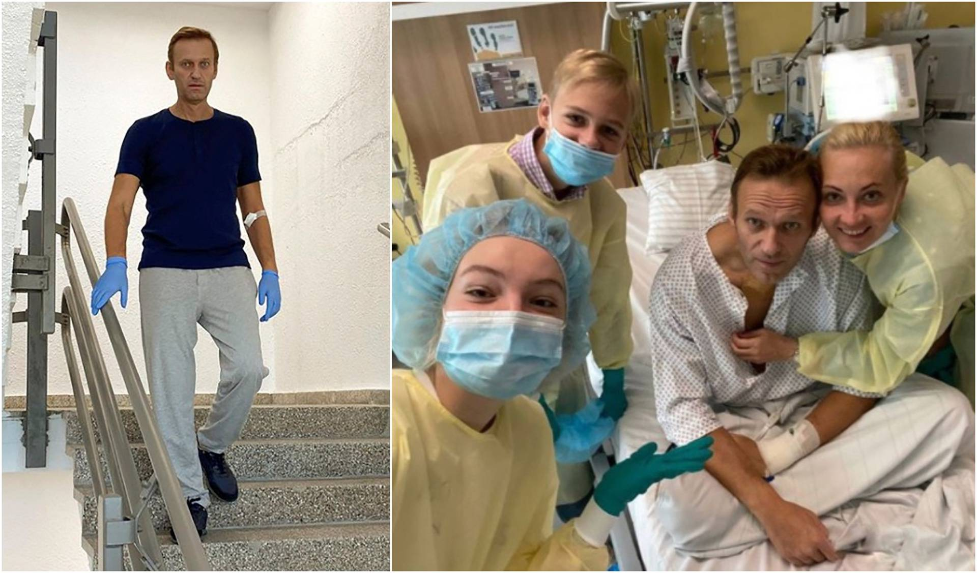 Navaljni otpušten iz bolnice: 'Moguć je i potpuni oporavak!'