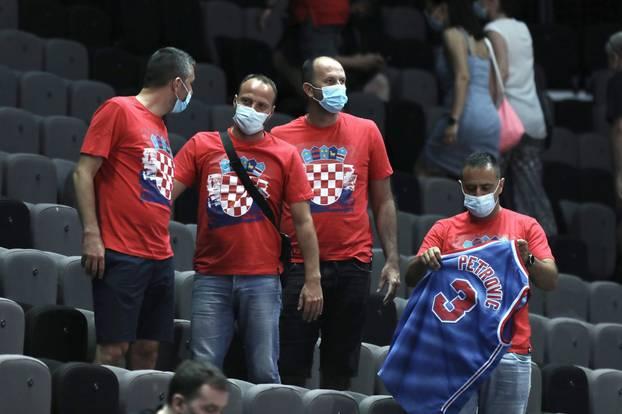 Split: Kvalifikacijska utakmica za odlazak na Olimpijske igre, Hrvatska - Brazil
