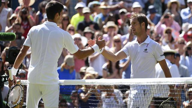 Wimbledon - Semi-Final - Djokovic Vs Gasquet - London