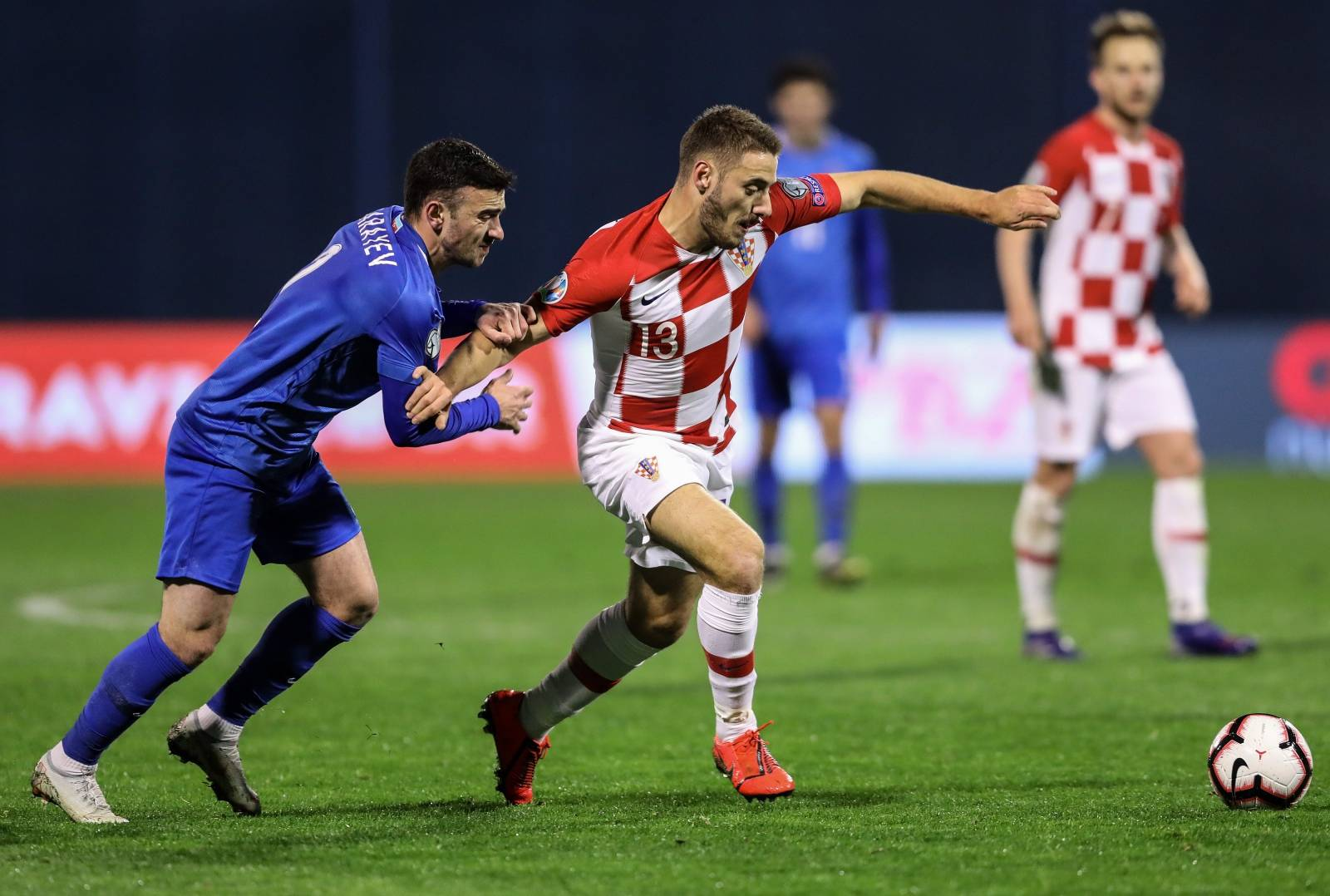 Hrvatska protiv Azerbajdžana igra prvu kvalifikacijsku utakmicu za EURO 2020.