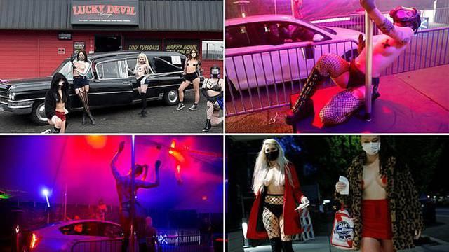 Prilagodio se: Otvorio drive-in striptiz klub, a hrana je izgovor