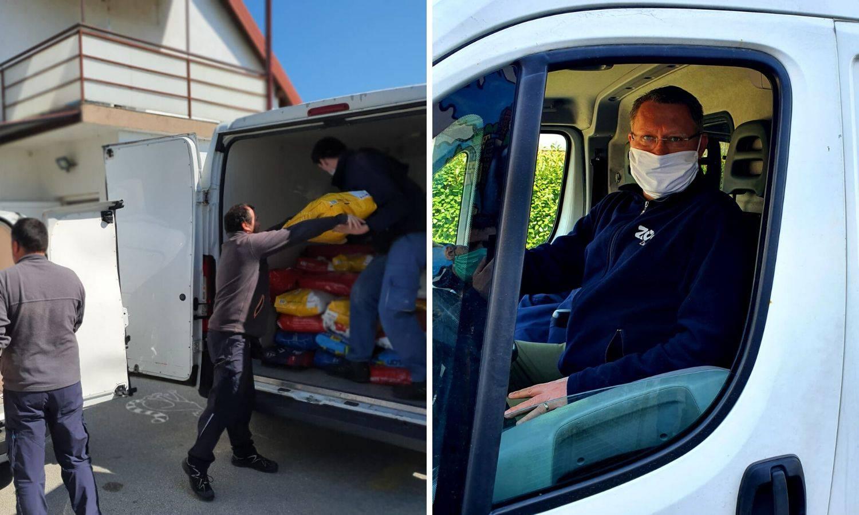 Direktor ZOO vrta u Zagrebu donirao 1300 kg hrane za pse