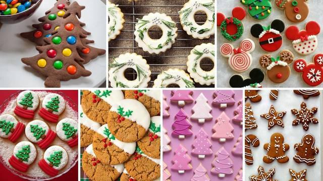 20 ideja za dekoraciju božićnih keksića i recept za prhko tijesto