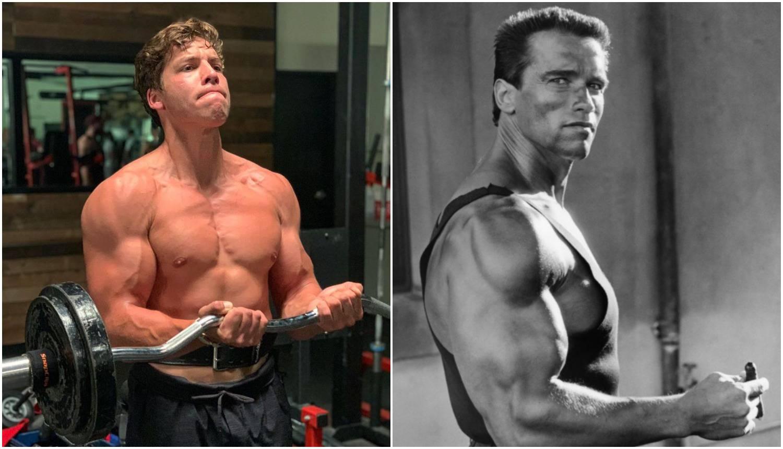 Schwarzeneggerov sin bilda kao tata nekad: 'Kao jaje jajetu ste'