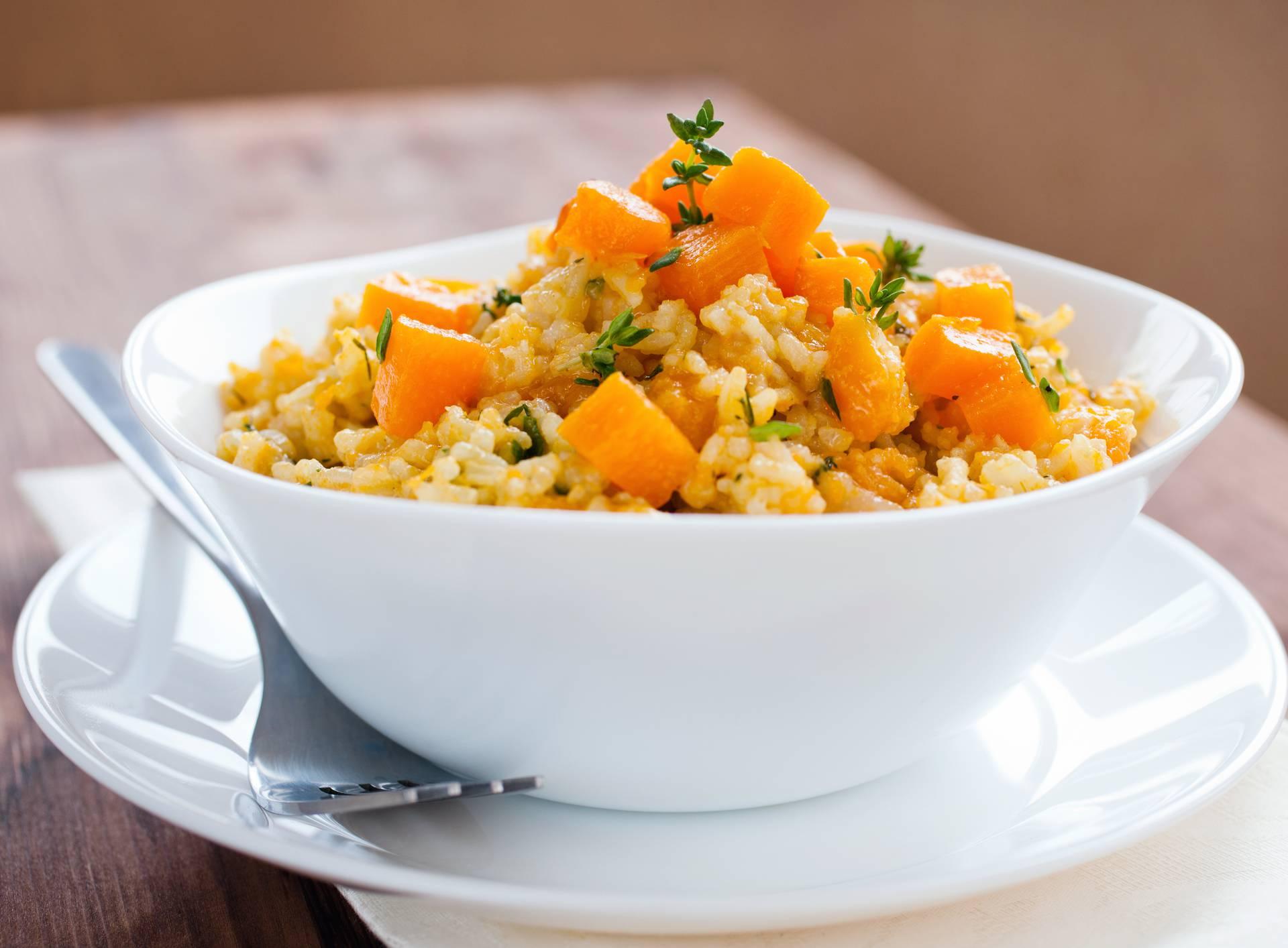 Lagani rižoto od tikve,špinata i parmezana - fini i zdravi obrok