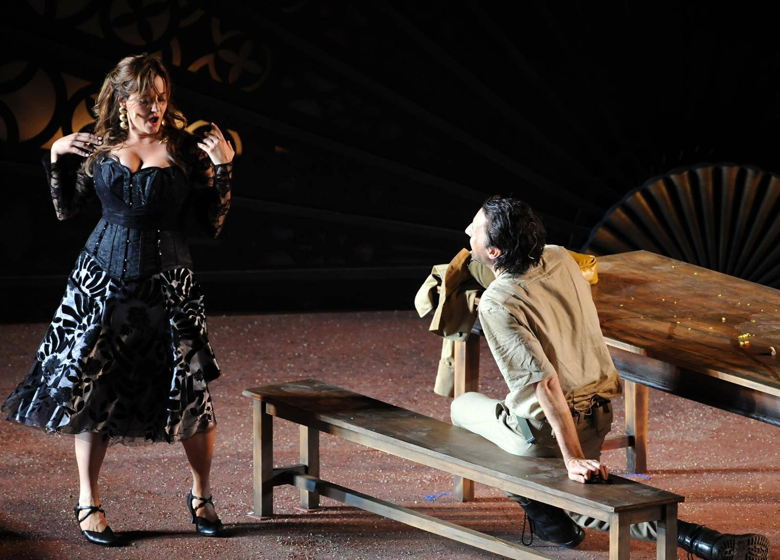 Opera - Carmen at lake Wannsee in Berlin